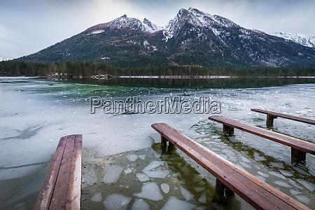 winter am hintersee im berchtesgadener land