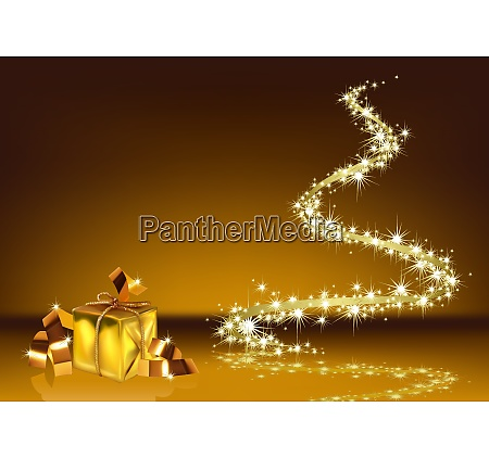 gold christmas sparkle background
