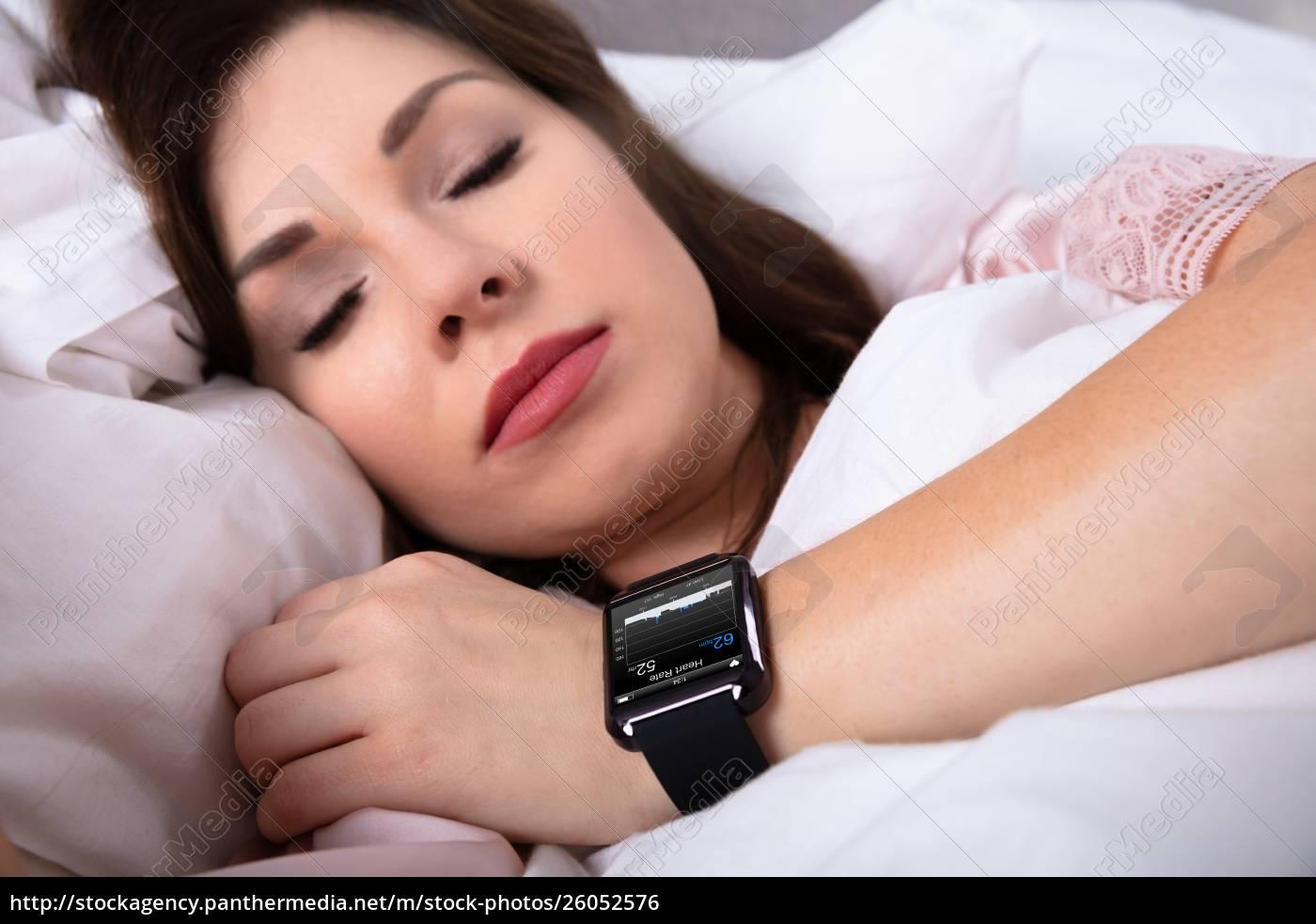 close-up, of, a, beautiful, woman, sleeping - 26052576