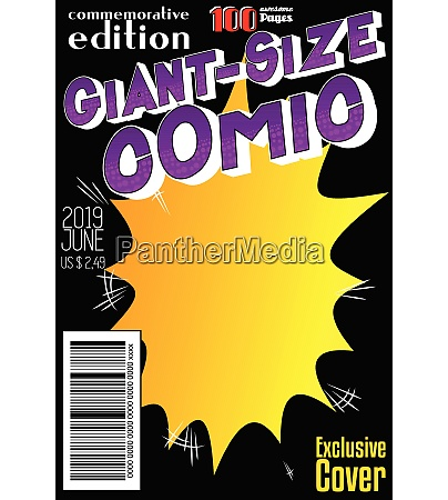 editable, comic, book, cover. - 26052627