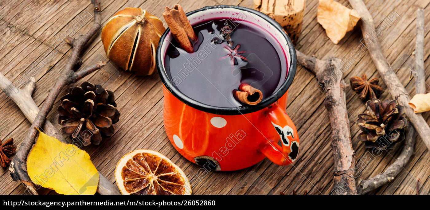ingredients, for, mulled, wine - 26052860