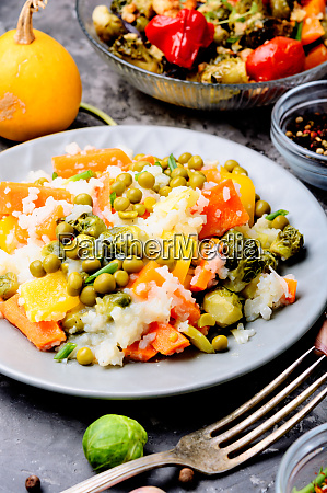 lean, vegetable, risotto - 26052673