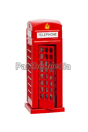 london phone booth classic british red