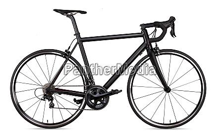 black racing sport road bike bicycle
