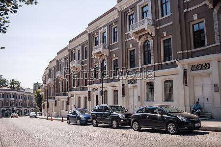 akaretler row houses in besiktas istanbul