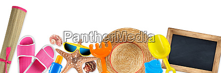 beach accessory tourism background