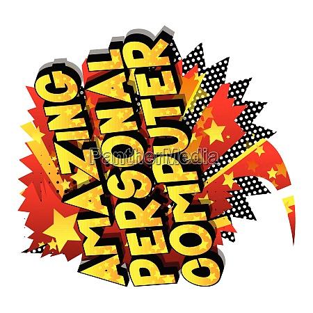 amazing, personal, computer, -, comic, book - 26053350