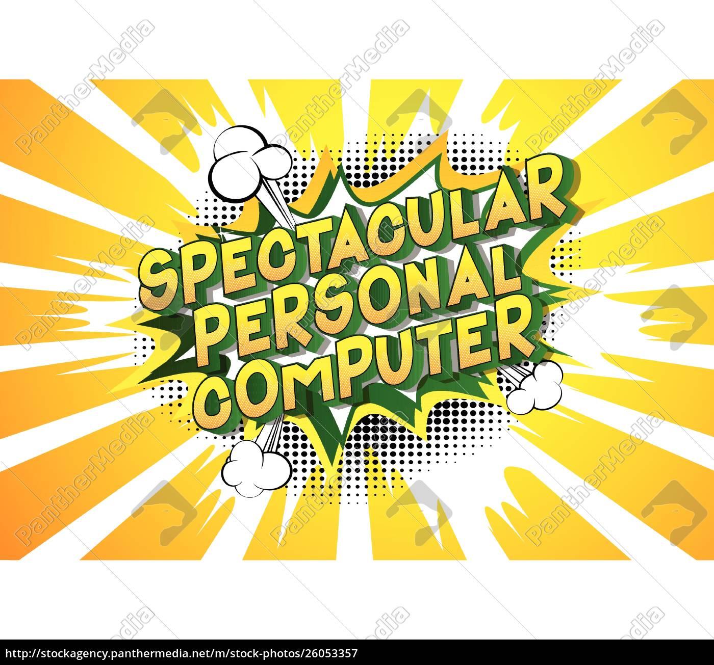 spectacular, personal, computer, -, comic, book - 26053357