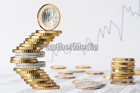 finance business euro stock background