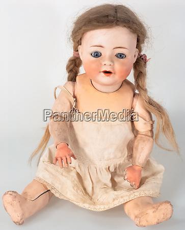 vista frontal de la munyeca femenina