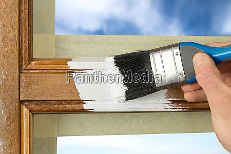 painting window frame