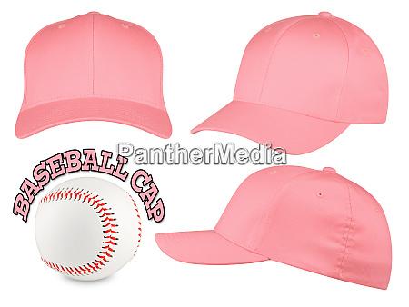 rose baseball cap set