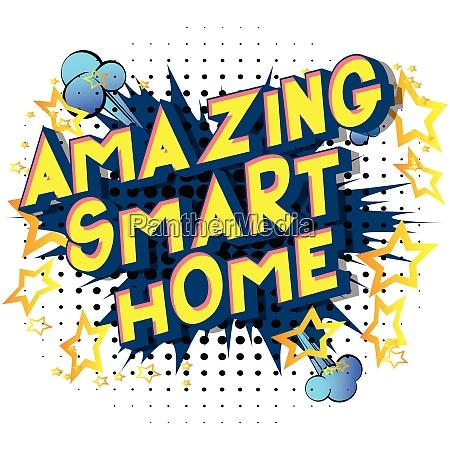 amazing smart home comic book