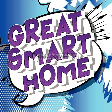 great smart home comic book
