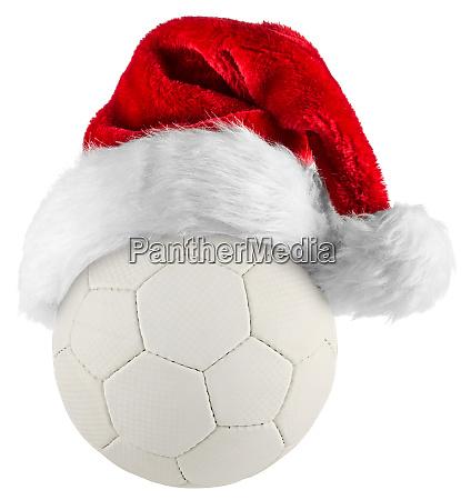 handball santa hat