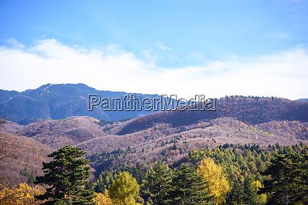 mountains landscape at daylight