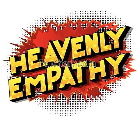 heavenly empathy comic book style