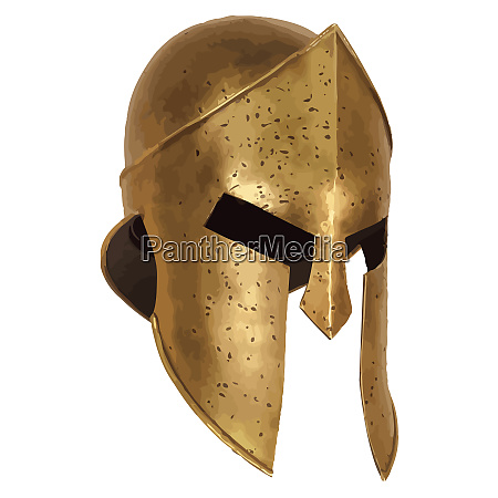 helm spartan ancient armour protection iron