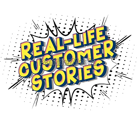 real life customer stories comic
