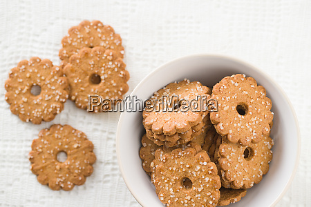 christmas, biscuits, with, sugar, crystals. - 26078816