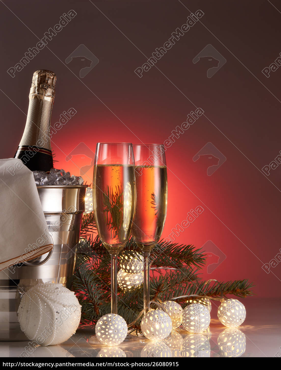 champagne, and, christmas, and, new, year - 26080915