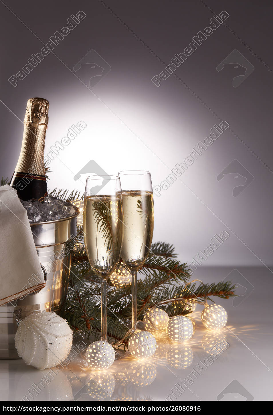 champagne, and, christmas, and, new, year - 26080916