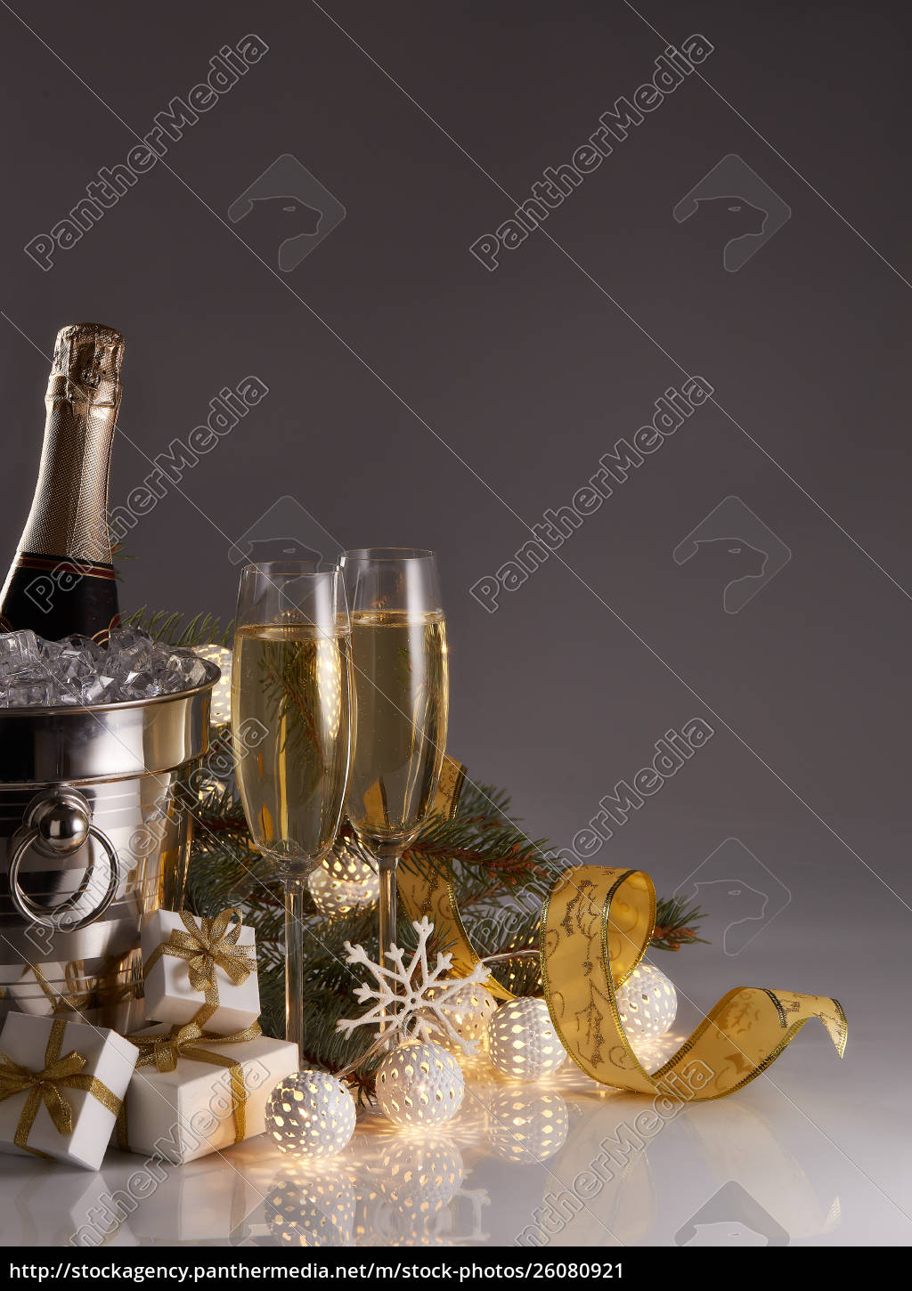 champagne, and, christmas, and, new, year - 26080921