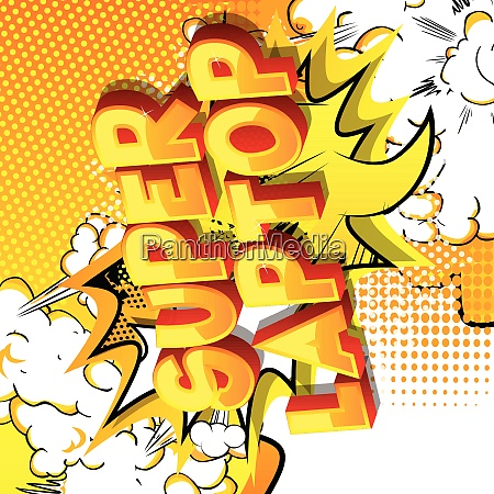 super, laptop, -, comic, book, style - 26081694