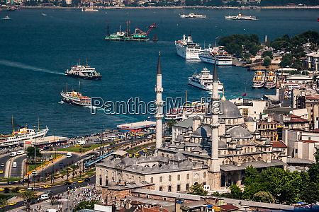 birds eye view of istanbul karakoy