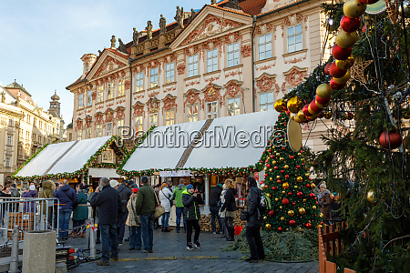 christmas advent market at old town