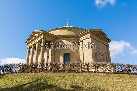 grabkapelle stuttgart mausoleum european blue skies