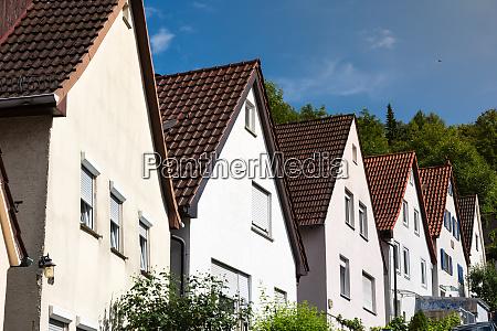 german neighborhood residential homes architecture european