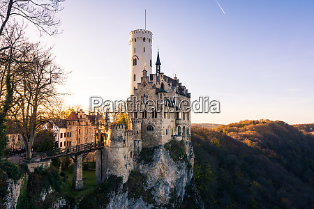 schloss lichtenstein castle germany baden wuerttemberg