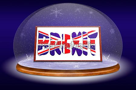 concept brexit england and eu