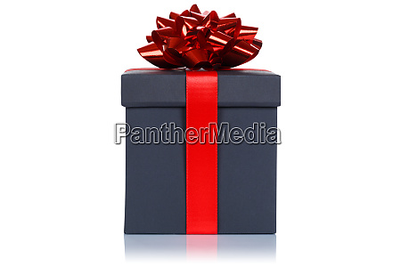christmas birthday gift present wedding black
