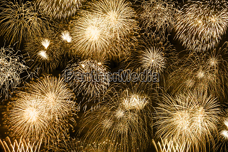 new years eve fireworks gold golden
