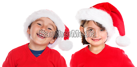 children kids boy girl christmas santa