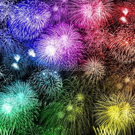 new years eve fireworks background years