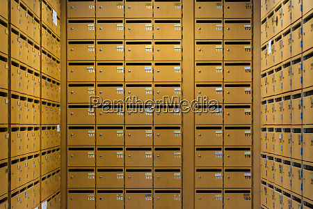 grid sorted array columns rows mailboxes