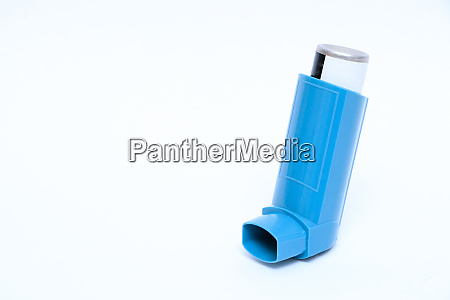 inhalator in front of white background