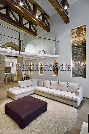 interiors shots of modern living room