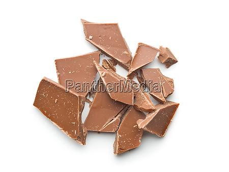 crushed dark chocolate