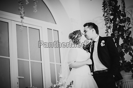 black white photography bride and