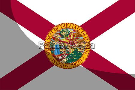 florida state flag shadow