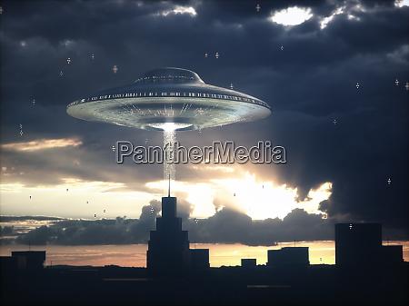 alien spacecraft science fiction