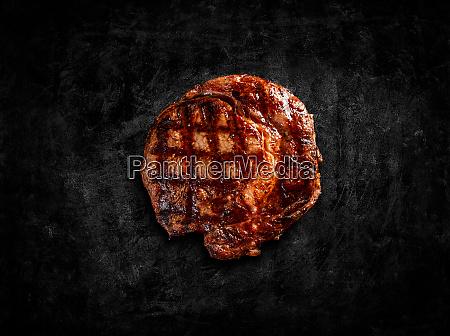 matured argentinian ribeye steak