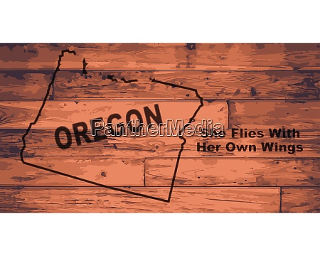 oregon map brand