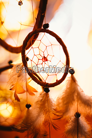 dream catcher against a background of