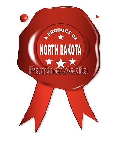 a product of north dakota