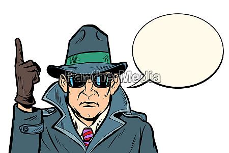 spy attention gesture